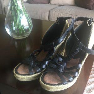 New Sam Edelman platform espadrilles sandals 91/2